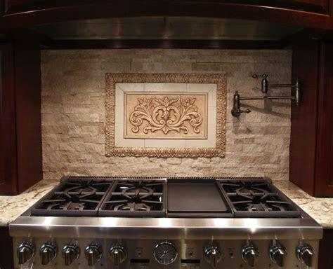 decorative tile inserts kitchen backsplash medallions for backsplash our floral tile and thin liners in antique brown along with flat