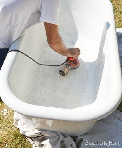 how to refinish a clawfoot bathtub how to refinish an antique claw foot tub check out my new tub beneath my heart
