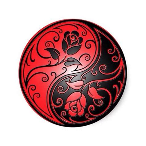 yin yang rose tattoo black and ying yang roses yinyang yin