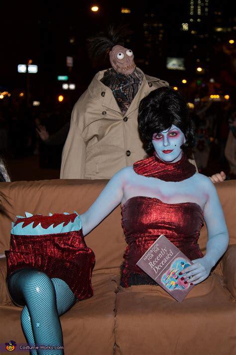 magicians assistant  beetlejuice costume photo