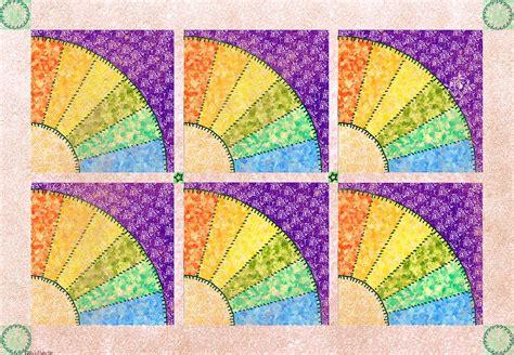 Fan Quilt Patterns by Fan Quilt Quilt Pattern Photograph By Debbie Portwood