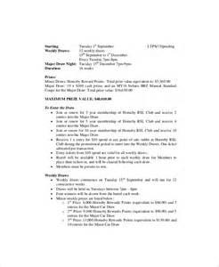 standard email template 10 marketing meeting agenda templates free sle