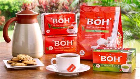 Teh Hijau Boh Di Malaysia tentang teh