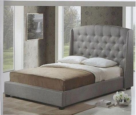 chesterfield bed frame chesterfield winged bed frame grey homepage