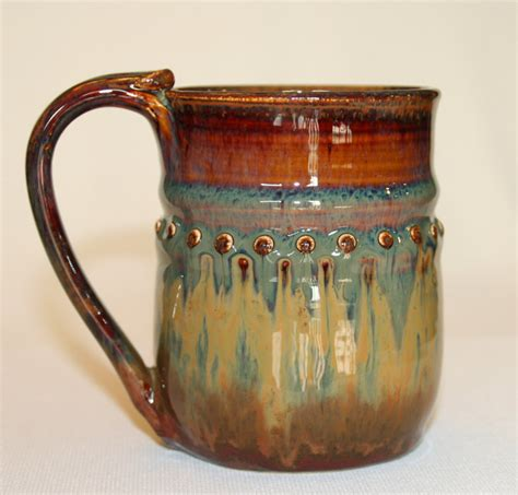 Interesting Coffee Mugs by Handmade Pottery Mug Stoneware