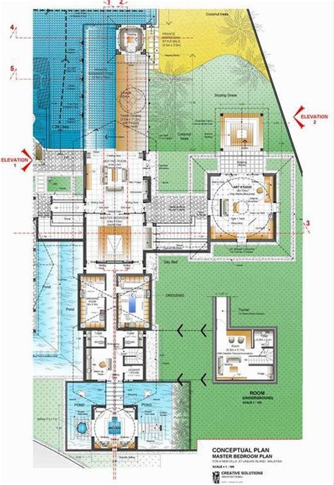 island resort floor plans luxury villa on malaysian island floor plans and models