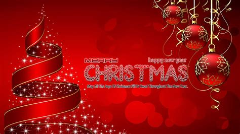 merry christmas wishes christmas tree wallpaper 1600x900