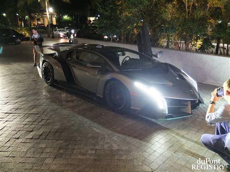 Lamborghini Veneno Buyers Lamborghini Veneno Delivered To Buyer In Miami