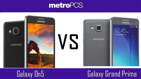 Samsung Galaxy On5 Vs J3 samsung galaxy on5 vs samsung grand prime metro pcs