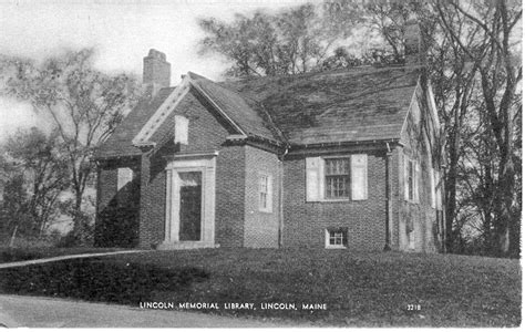 lincoln mayne library lincoln maine