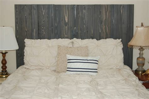 headboard that hangs on wall charcoal gray stain barn walls full headboard hang on the