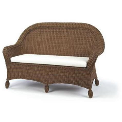 settee cushions outdoor outdoor classic settee with cushion
