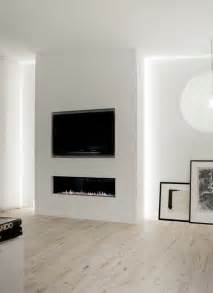tv wall with fireplace