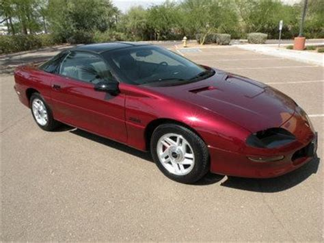 best car repair manuals 1994 chevrolet camaro engine control sell used 1994 camaro z28 loaded t top coupe six speed 350 lt1 low miles extra clean in phoenix