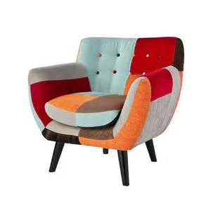 patchwork fabric armchair sofas