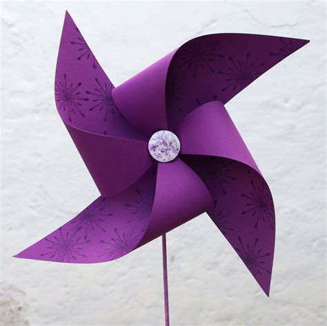 Paper Windmills - newark library