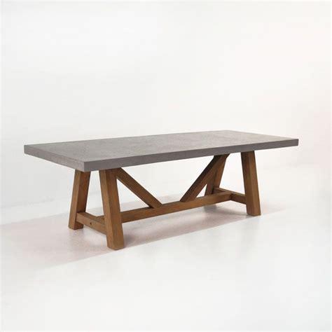 1000 ideas about concrete table on concrete