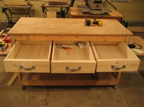 bench drawer workbench plans drawers free download pdf woodworking workbench drawers diy