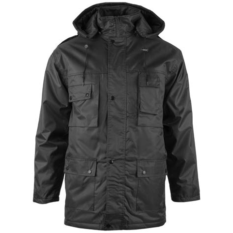 Parka Black 1 mil tec parka dubon with black parka 1st