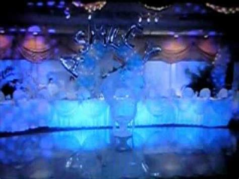 Winter Baby Shower Themes by Ashley S Grand Sweet 16 Entrance Cinderella Themed