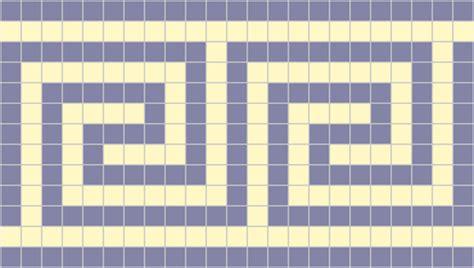 mosaic key pattern exles of greek key roman mosaics