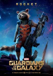 Guardians of the galaxy s rocket dresses like a roman soldier