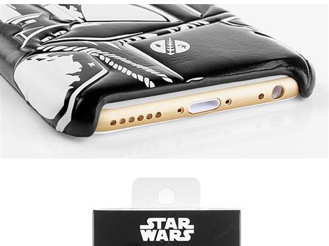 Iphone 6 6s Casing Cover Lucu Starwars Leather Bb 8 iphone 6 6s wars boba fett leather back