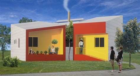 Zero Energy House Plans by Brad Pitt S Make It Right Delivers First 3 Leed Platinum