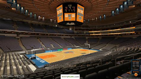 Madison Square Garden Seating Chart Section 115 View