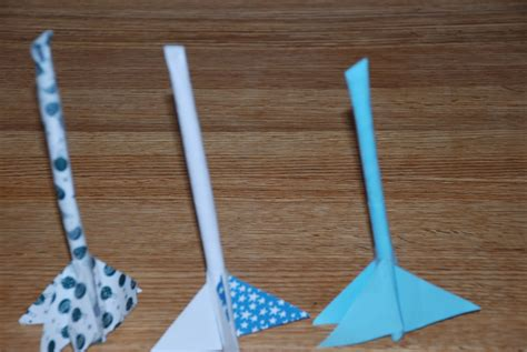 Handmade Rockets - family for straw rockets