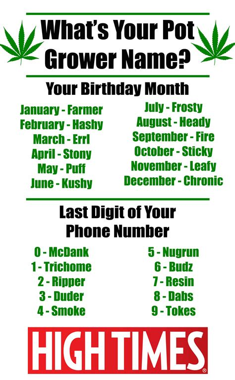 figure name generator name generator what s your pot grower alias 183 high times