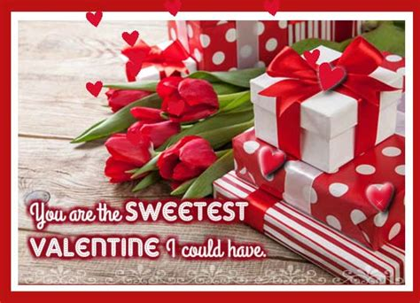 sweetest valentine    ecards greeting cards