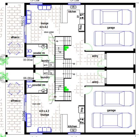 townhouse plans designs budget 4 bedroom townhouse kit home designs