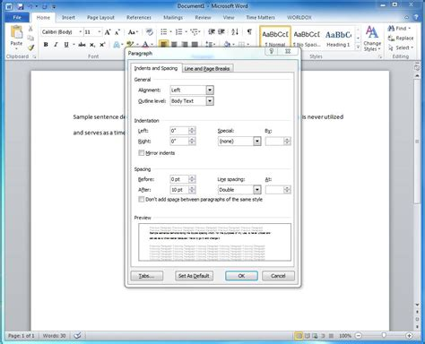 Change Word Default Template by Change Default Font In Word 2010 Template Tomyumtumweb