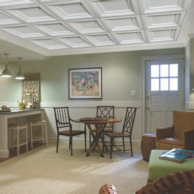 Coffered Drop Ceiling by Drop Ceiling Installation Armstrong Ceilings Residential