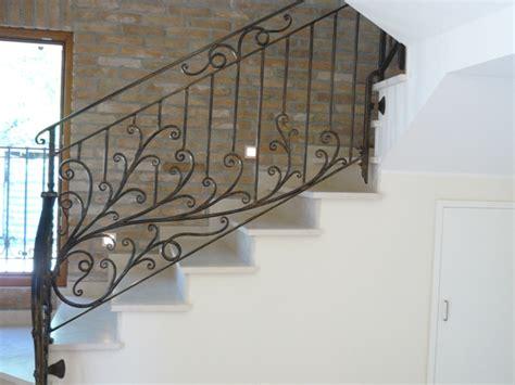ringhiera in ferro battuto per scale interne ringhiere e scale interne rosso ferro battuto