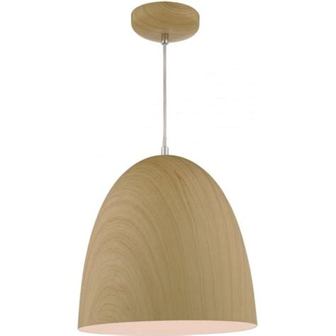 Scandinavian Pendant Lights Beech Wood Effect Hanging Ceiling Pendant Light In Nordic Styling