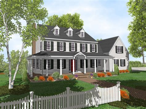 House Plans Colonial by 4story Colonial 2 Story Colonial Style House Plans