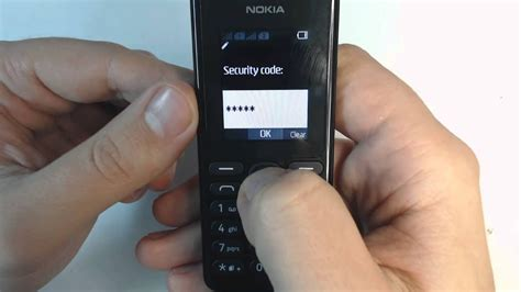 resetting nokia c3 forgot security code nokia 108 security unlock youtube
