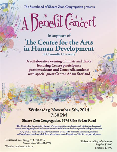 charity concert invitation letter invitation to a benefit concert on november 5th crom