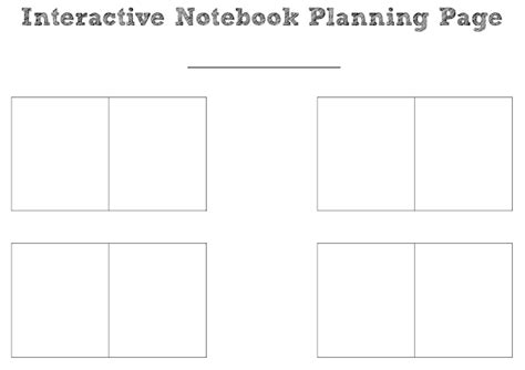 free interactive notebook templates math free downloads