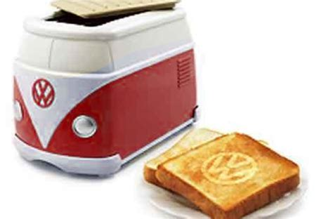 Vw Cer Toaster foodista the vw minibus toaster is a kitchen applicance