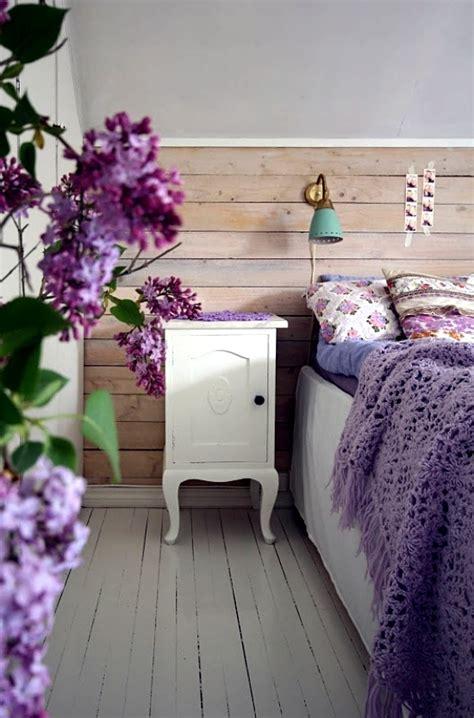 bedroom design purple lilac  ideas  interior