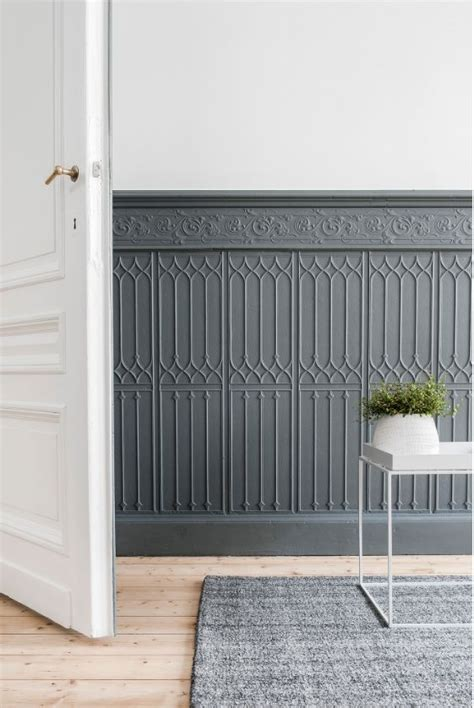 gray paneling best 25 painted wainscoting ideas on grey