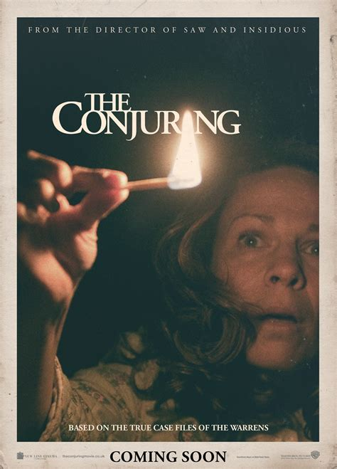 insidious film true story the conjuring movie poster and trailer starmometer
