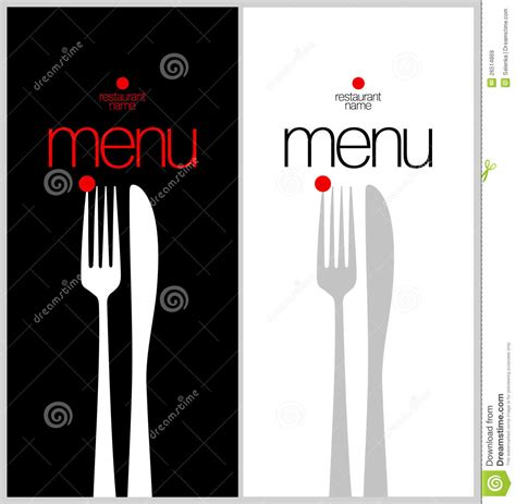 menu card design templates menu card design template royalty free stock images