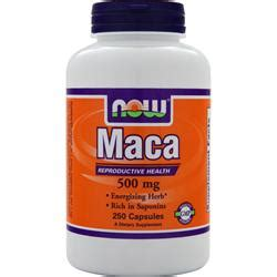 Now Maca 500mg now maca 500mg on sale at allstarhealth