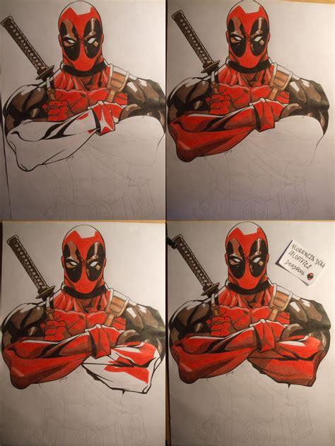 imagenes geniales de deadpool dibujo de deadpool paso a paso taringa