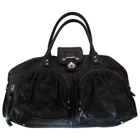 Botkier Black Ruched Purse by Black Plain Leather Botkier Handbag Vestiaire Collective