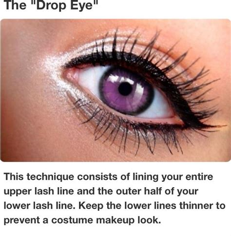 tattooed cat eyeliner eyeliner style quot the drop eye quot make up pinterest